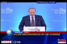 Watch: Russia, US war of words on Syrian crisis at G20 summit