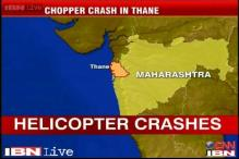 Maharashtra: Chopper crash lands in Thane, 5 dead