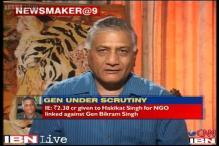 I am being targeted as I shared the dais with Modi: Ex-Army chief General Singh