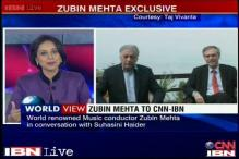 Duty of a musician is to bring people together in conflict zones: Zubin Mehta