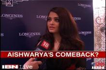 Waiting for the right project to make a comeback, says Aishwarya