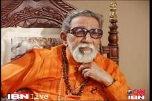 Sena protests 'derogatory' remark on FB against Bal Thackeray
