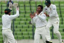 2nd Test: Shakib strikes to keep NZ in check on another rainy day
