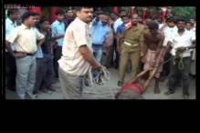Bihar: Police tie, drag mentally-challenged man on the streets