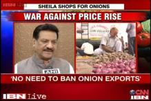 No need to ban onion exports, says Prithviraj Chavan