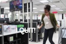 Watch: Woman's dancing video resignation goes viral