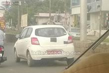 Datsun Go spotted testing in India, will launch next year