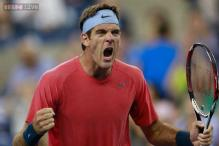 Del Potro reaches quarterfinals at Japan Open