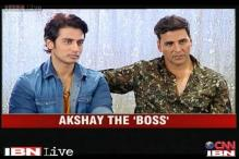 Akshay tells about his upcoming film 'Boss'
