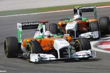 Horrible show by Force India at Korean Grand Prix