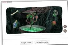 Halloween Witch gets you playing with an interactive Google doodle
