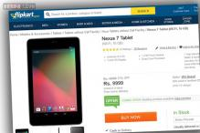 Google Nexus 7 now available online at Rs 9,999