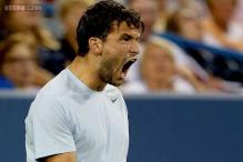 Dimitrov beats Llodra at Paris Masters