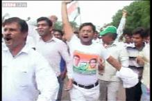 Gujarat Congress workers detained while protesting against Modi govt