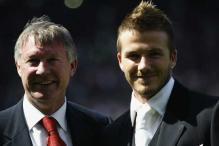 David Beckham 'lost focus', says Ferguson
