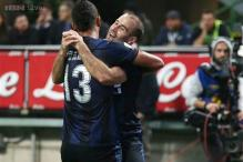 Inter Milan back on track with 4-2 win over Verona