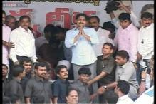 Jagan Reddy begins indefinite fast against Andhra Pradesh bifurcation