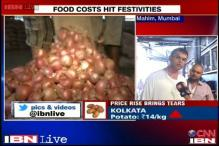 Rising food prices hit festivities