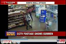 Kenya mall attack: CCTV image shows armed gunmen at the supermarket