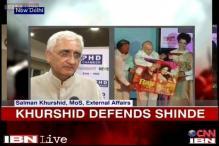 Patna blasts: Why didn't Narendra Modi cancel his rally, asks Khurshid