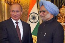 Manmohan, Putin praise each other for bolstering bilateral ties