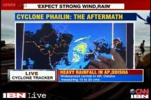 Cyclone Phailin: Rainfall expected at various parts of Odisha, Bihar, Andhra