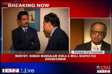 Coalgate: Murthy slams FIR, says Birla is a respected man