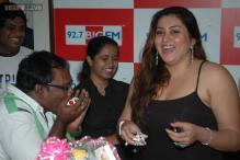 Namitha kicked about playing cop role