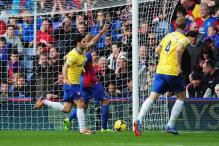 Arteta scores, sent off as Arsenal beat Crystal Palace