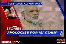 News 360: Modi slams Rahul'S ISI remark