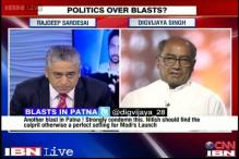 BJP stands to benefit from the Patna blasts, says Digvijaya Singh