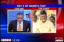 Chandrababu Naidu says can't choose between Telangana, Seemandhra