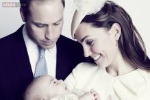 Perfect! Kate and William release the family's first official photo