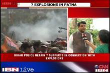 Political fraternity condemn Patna blasts