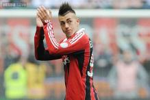 Injured El Shaarawy to miss AC Milan's Ajax trip