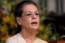 Sonia Gandhi lays foundation stone of AIIMS in Raebareli