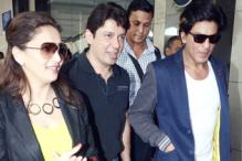 Photos: Shah Rukh Khan, Madhuri Dixit, Jacqueline Fernandez return from 'Temptations Reloaded'