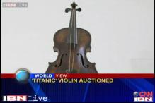 Violin that calmed people on Titanic fetches $ 1.7 million in auction