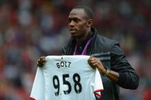 Usain Bolt wants to be professional footballer