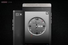 P'9982: The Porsche-designed BlackBerry Z10 smartphone