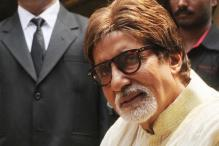 Amitabh Bachchan visits capital to celebrate grandson's birthday