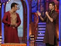 Bigg Boss 7: Salman Khan performs Laxmi puja with Elli Avram in the house