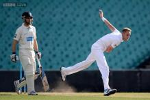 Broad shines early before England stall in Sydney