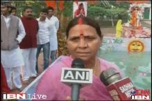 Watch: Rabri Devi performs Chhath Puja in Patna without Lalu Prasad