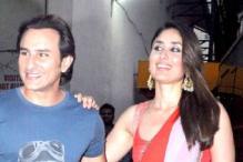 'Bullett Raja' Saif visits the sets of 'Nach Baliye' with his 'baliye' Kareena Kapoor