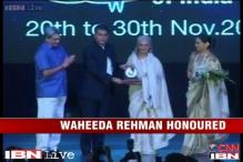 E-Lounge: Waheeda Rehman gets first Centenary Film Award at IFFI