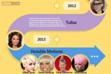The worst celebrity hairstyles between 2010 and 2013