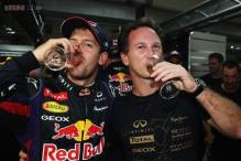 The partying can wait for determined Sebastian Vettel