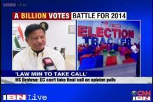 Government needs to decide on poll surveys: EC