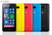 Huawei Ascend W2 with Windows Phone 8 announced, expected to be available in India soon
